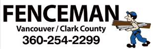 Fenceman Fence Company – Vancouver Washington Fences Logo